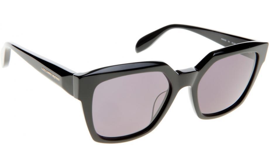 5c207a1c0c96 Alexander McQueen AM0042S 001 54 Sunglasses - Free Shipping